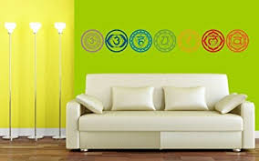 7pcs set chakras symbols removable vinyl wall stickers mandala yoga om meditation creative wall decals on creative images wall art with amazon 7pcs set chakras symbols removable vinyl wall stickers