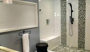 showers master shower doors modern remodel enclosures bathroom ideas bathtub kits combination tile small inserts