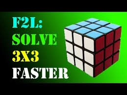 Pattern To Solve Rubik's Cube Simple F48L Solve A Rubik's Cube FASTER Part 48 YouTube
