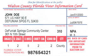 Voter Information Information Information Voter Card Voter Card