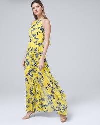 Eliza J Dress Size Chart Ruffle Maxi Dress White House Black Market