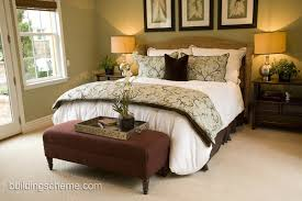 bedroom ideas couples: classy bedroom idea with wicker bed and leaves pattern decoration exclusive bedroom ideas for couple with