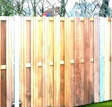 how to install a wood fence how to install a wood fence with metal posts installing