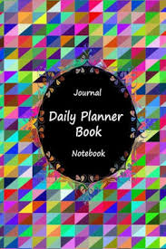 Business Day Planners Journal Daily Planner Book Notebook Mosaic Art Appointment Book