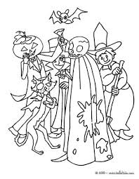 Small Picture Spooky monsters coloring pages Hellokidscom