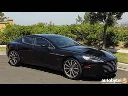 2017 Aston Martin Rapide S Test Drive Video Review 200k Luxury Sedan Youtube
