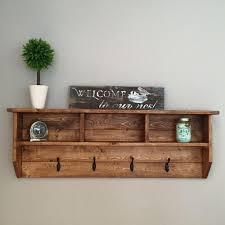coat racks stunning wall hanging rack shelf pertaining to mounted with storage design 11