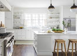 simple country kitchen. Brilliant Country Kitchen White Country Table Modern Conical Hanging Lamp Monochrome Ball  Ceiling Simple Wooden Cabinet Inside A