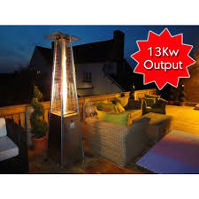 output stainless patio heater:  midlands gas stainless steel patio heater kw