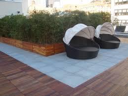 outdoor with ipe deck tiles
