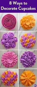 Flower Gallery Cupcakes Most Amazing Decorated Desserts