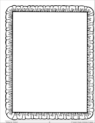 Simple Borders For School Projects On Paper Cliparts Co