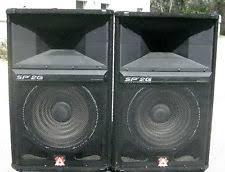 speakers 15. peavey sp-2g 15\ speakers 15