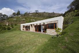 good house plans for homes built into a hill