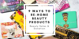 9 ways to sell or donate used makeup