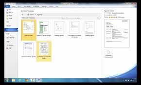 How To Create An Agenda In Word How to Create an Agenda in Microsoft Word 24 YouTube 1