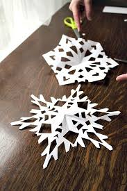 how to make paper snowflake complete