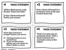 statement task cards black white ink saver set of cards thesis statement task cards black white ink saver set of 32 cards