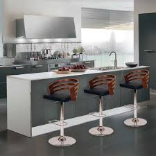 contemporary bar furniture. Bar Stools:Modern Swivel Stools With Wooden Arms And Back Black Leather Pad For Contemporary Furniture