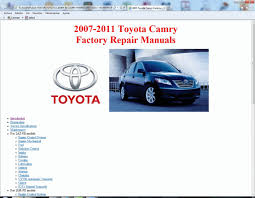 Toyota Camry and Camry Hybrid (2007-2011) - Service Manual - Wiring ...