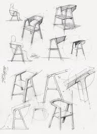 industrial design sketches furniture. thomas feichtner\u0027s a-chair uses traditional carpentry joints. product sketchproduct design industrial sketches furniture k