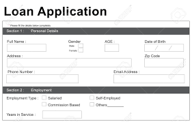 Loan Application Form Loan Application Form Stock Photo Picture And Royalty Free Image