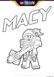 Coloriage Lego Nexo Knights Macy Jecolorie Com