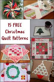 15 Christmas Quilt Patterns • Freemotion by the River & 15 Christmas Quilt Patterns Adamdwight.com