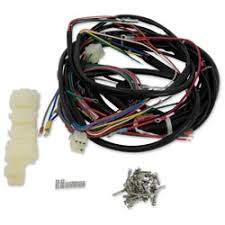 motorcycle wiring harness kits j&p cycles junction city wire harness kauffman engineering v twin manufacturing builders kit wire harness