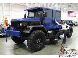 1978 jeep m35a2 4x4 2 1 2 ton dump bed custom crew cab 4 door am general
