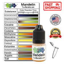 Mdma Color Chart Test Narcotics Mandelin Reagent Testing Kit 7ml Bottle