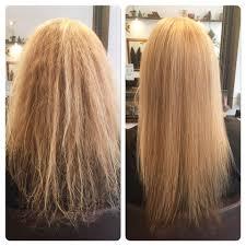 Keratin behandling till håret