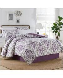 Purple Bed Sets. Madison Park Biloxi Purple Bed Covers. Bq Queen ... & carina 68 piece comforter set in purple purple full comforter sets Adamdwight.com