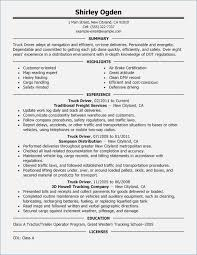 Objective For Truck Driver Resume Truck Driver Resume Objective globishme 41