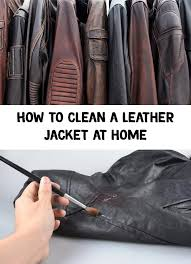 have you applied a harmful substance on the coat clean it immediately with a soft cloth leather is a porous material and will absorb the fluids