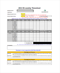 Sample Timesheet Calculator 19 Free Documents Download In Word