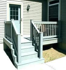 prefabricated outdoor steps wood