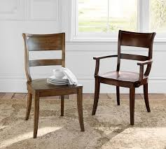 bradford dining chair pottery barn don t like the one with arms