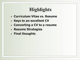 "The Curriculum Vitae Handbook Mesmerizing Resume VS CV"" Presented By Liz Herrera Assistant Director"