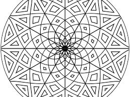 Mosaic Coloring Page Free Coloring Pages
