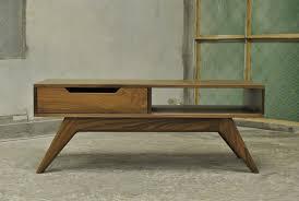 mid century modern furniture glass coffee table modrox com bassett walnut with lip west elm storage diy midcentury square target shelf plans round legs
