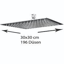 Grafner Edelstahl Duschkopf 30x30cm Regendusche