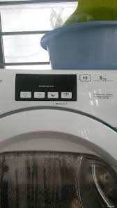 Máy giặt máy sấy lồng ngang dư dùng thanh lý