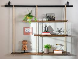 how to make rope shelving