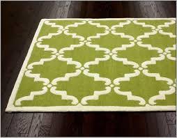 lime green area rug 4 6