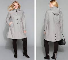 plus size parka plus sized stylish coats classic coats for plus size women at