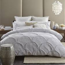 decoration white ruched duvet cover king black and size covers ruffle ombre