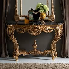 gold console table. Ornate Gold Rococo Console Table
