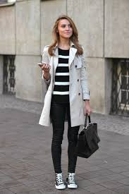 a cream trench will always afford you an elegant and smart every day style worn