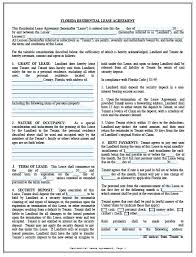 Simple Rental Lease Agreement Residential Lease Agreement Template Basic Apartment Form